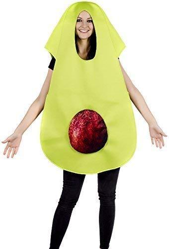 Nacht Kostüm Hennen - Herren Damen Avocado Lebensmittel Obst 5 einen Tag Comedy Herrenabend Henne Do Nacht Party Spaß Kostüm Kleid Outfit
