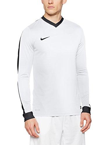 online retailer 0c692 ca758 Nike LS Striker IV JSY T-Shirt pour Homme S Multicolore (White White
