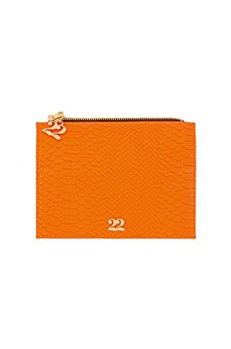 Numeroventidue FLAP WALLET Portafogli Accessori Snake Orange Snake Orange TU