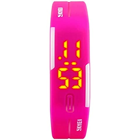 METLIFE 1099 Unisex relojes de las mujeres del deporte al aire libre femenino reloj de pulsera digital resistente al