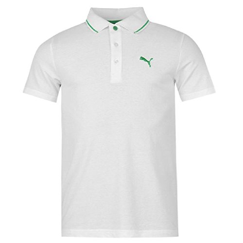 Puma Herren Poloshirt Mehrfarbig Mehrfarbig Mehrfarbig - weiß