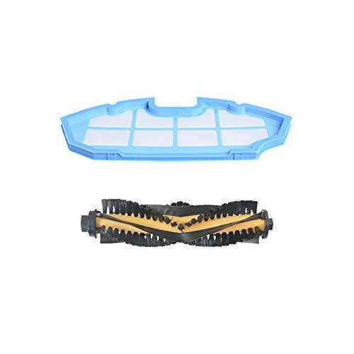 Hengzi Ersatzteile für Primärfilter und Hauptbürste für Ecovacs DEEBOT N79 N79S Roboterstaubsauger