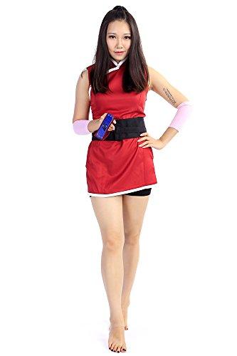 De-Cos Naruto Shippuden Movie 7 - The Last Cosplay Costume Haruno Sakura Set V3