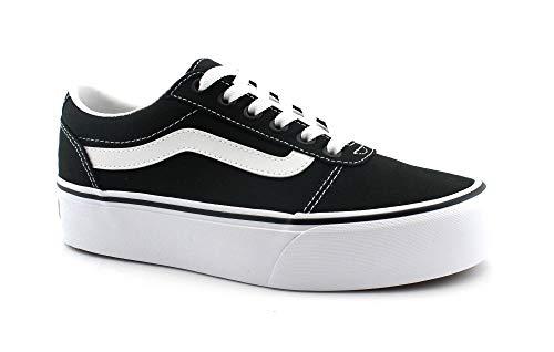 Vans Damen Ward Platform Canvas Sneaker: : Schuhe