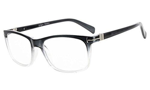 Eyekepper Lesebrille Mode Lesen Brillen Männer Frauen (Grau, 2.25)