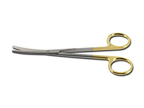 Forbici Metzenbaum C.T. Curve, 14 cm, strumentario chirurgico carburo di tungsteno