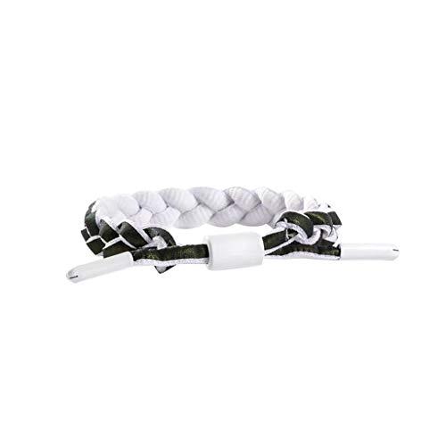 UOWEG Armband Unisex Reflective Woven Bracelet Gradient Fluorescent Paar Hand Rope Tragbares Armband