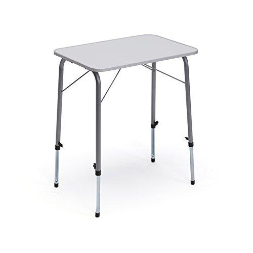 Tavolo da campeggio con gambe telescopiche 60 centimetri