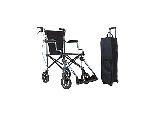 Rollstuhl Ultraleichter Rollstuhl - Antriebstransportrollstuhl - Tragbarer Zusammenklappbarer Älterer Rollstuhl - Abnehmbare Fußstützen - Für Reisen Und Aufbewahrung,A,A - Körper-handschuh-kinder T-shirt