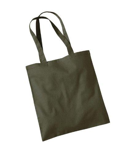Westford Mill Promo Damen Schultertasche, Erwachsene Grün - Olive Green