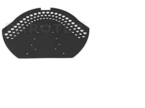 2 Stück PVC Firstendscheibe First / Grat Abdeck Deckel, Firstentlüftung (Schwarz)