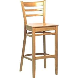 Kitchen / Breakfast Bar Chairs - Wooden Beech Dining High
