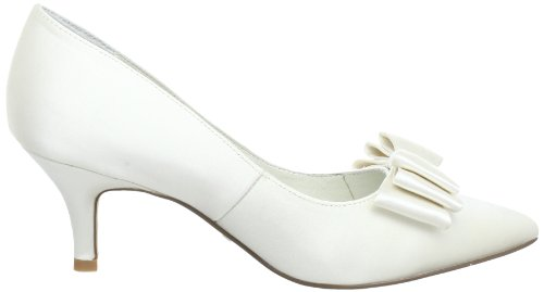 Menbur Wedding Zoe 5071, Scarpe col tacco donna Avorio (Elfenbein (Ivory 04))