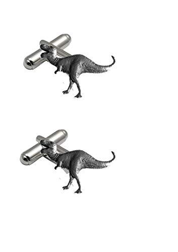 Tyranosaurus Rex pp-g16 Dinosaure Anglais étain boutons de manchette