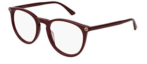 Brillen Gucci GG0027O BURGUNDY Damenbrillen