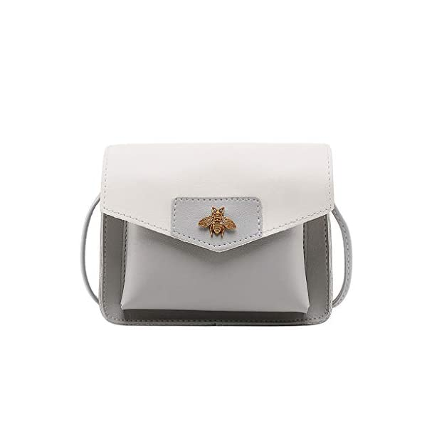 31WP3XGUftL. SS600  - Luckycat Bolsos De Hombro Bandolera De Piel Bolsa Mano Moda Para Mujer Bolsos Mochilas para mujer Bolsas de mensajero…