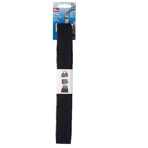 1 m Sangle Noir Blanc Double Face utilisable 30 mm