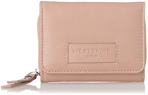 Liebeskind Berlin Damen Essential Pablita Wallet Medium Geldbörse, Pink (Dusty Rose), 2x9x11 cm Rose Damen Leder