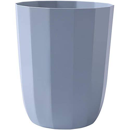 zhongleiss Abfalleimer Wohnzimmer Kunststoff Papierkorb Müll Keine Abdeckung für kleines Papier Warenkorb Küche (Warenkorb Abfälle)