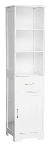 Premier Housewares 2401250 – Armario de baño, color blanco