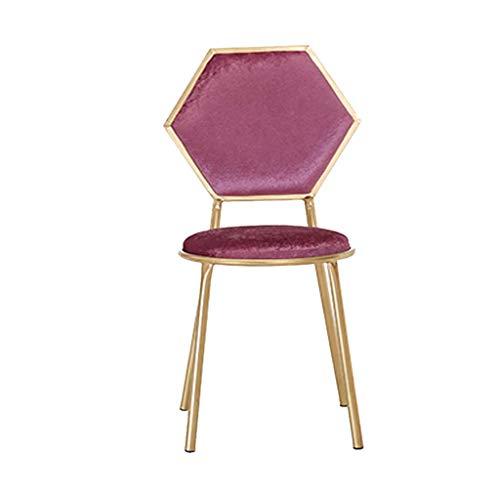 Rventric Eisen Kunst Barhocker Esszimmerhocker/Stoff Make-up Stuhl, Vintage Vanity Chair 1 stücke Für...