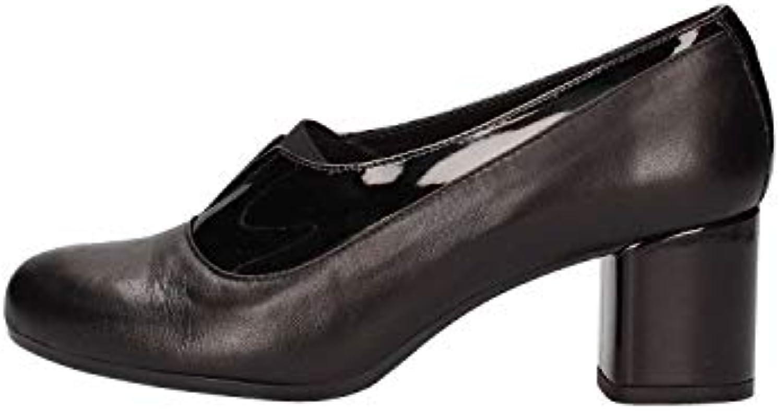GRÜNLAND Scarpa ACCOLLATA con Tacco CACI SC4042 - Nero (39 (39 (39 EU) | Alta Qualità  | Scolaro/Ragazze Scarpa  ab0439