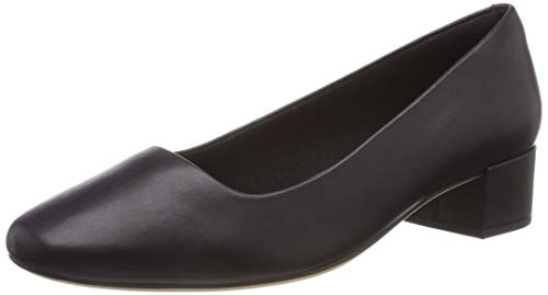 Clarks Orabella Alice, Scarpe con Tacco Donna, Nero (Black Leather-), 39 EU