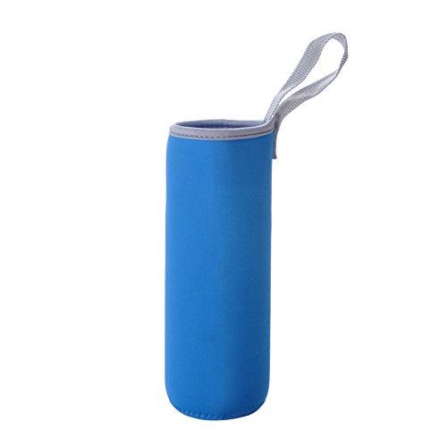 Aspire Bulk 2–3/10,2cm Dia isoliert Glas Flasche Abdeckungen, 16Unze Neopren Camping tragbar cup sleeve, unisex, blau 1 Unze Blauen Glasflaschen