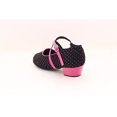 Scarpe da ballo - Non personalizzabile - Donna / Bambino - Moderno - Senza tacco/Ballerina - Stampa/Trama - Nero Black
