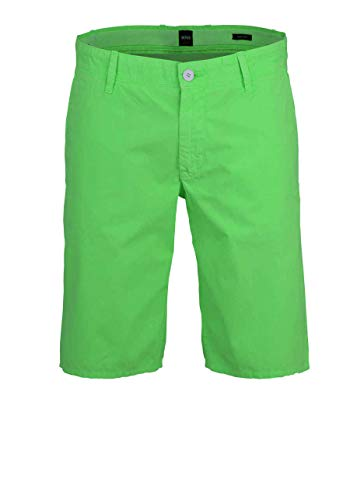 BOSS Casual Herren Chino-Shorts Schino-Regular Short Grün 34