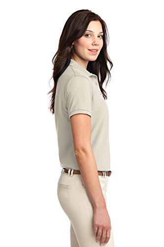 Port Authority Femme toucher soyeux Polo. L500 beige clair