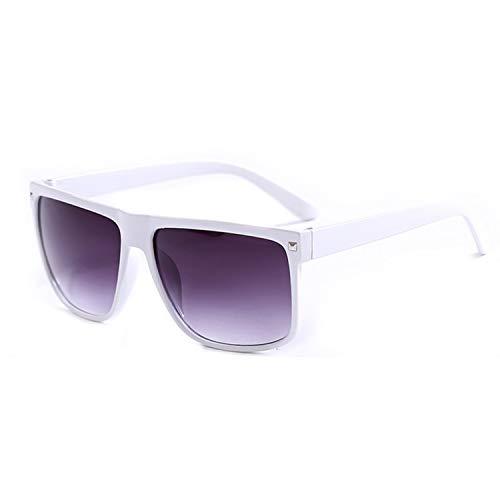 ZRTYJ Sonnenbrille Klassische Sonnenbrille In Braun Und Schwarz Rechteckige Unisex-Sonnenbrille Für Damen Mode Herren Brillen Oculos De Sol Feminino