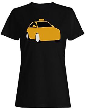 Nuevo Taxi Logo Coche camiseta de las mujeres m178f