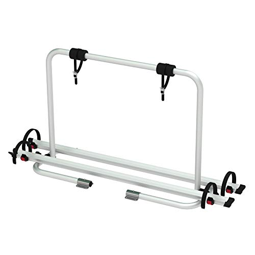 Fi wamovo® Deichsel Fahrradträger Caravan ECO | 2 Fahrräder | 50 Kg belastbar |