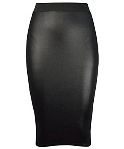womens-ladies-new-faux-leather-ladies-bodycon-wet-look-pencil-fit-tube-black-midi-skirt-pencil-wiggl
