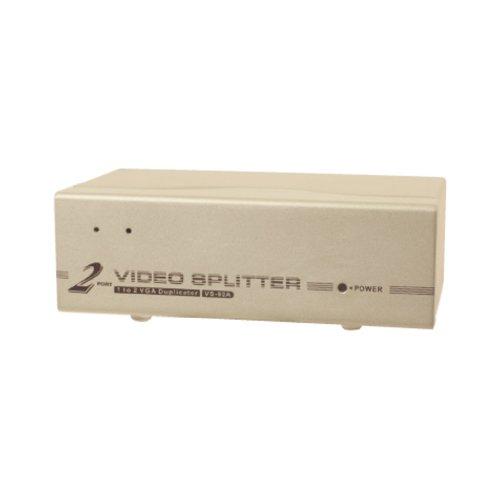 2-wege Vga Svga Splitter (2-Wege-Port VGA SVGA Monitor Video Y Splitter-mit PSU)
