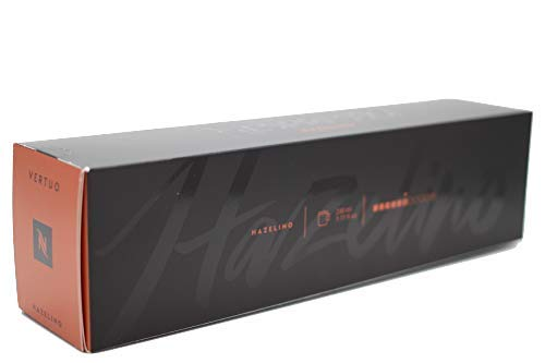 Nespresso Vertuo Hazelino 230ml - Stärke 6/11-50 Kapseln / 5 Stangen