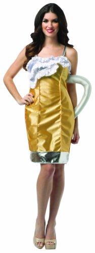 Generique - Bierkrug Kostüm für Damen Einheitsgröße (Bierkrug Erwachsenen Kostüme)