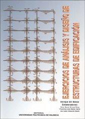 Portada del libro Ejercicios de Análisis y Diseño de Estructuras de Edificación (Académica)