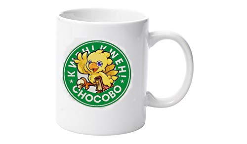 Chocobo Final fantasy 7 8 9 10 11 12 13 VII Starbucks Parody 11oz Mug Mugs quality design by LBS4ALL