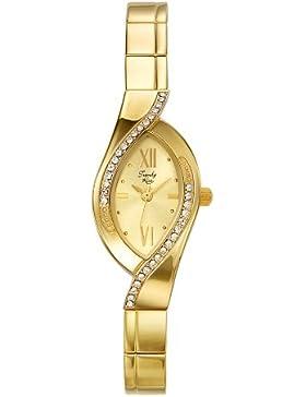 Trendy Kiss Damen-Armbanduhr Analog gold TG3747-07