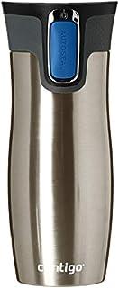 Contigo West Loop Borraccia In Acciaio INOX Tumbler Isolato Con Logo, Argento, 470 ml (B003BI7VBO) | Amazon Products