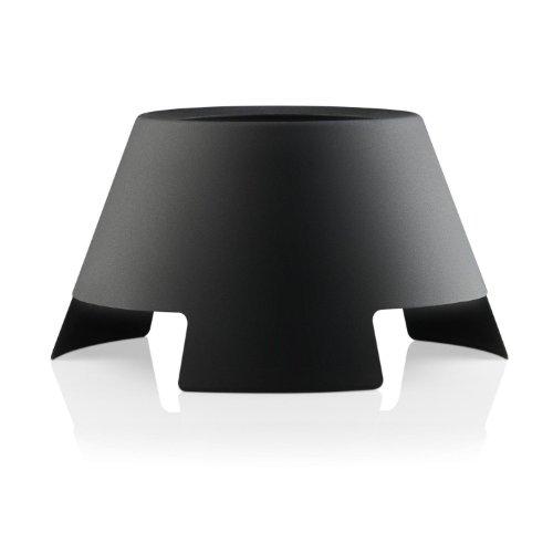 Eva Solo LightUp - Bougeoir noir et blanc 28cm/H: 15cm