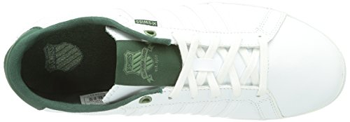 K-Swiss  All Court Tennis II SO, Basses homme Blanc (White/Pine/Seaspray/178)