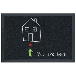 "Contec FS1003828591 - Zerbino ""You are Here"", 40 x 60 cm"