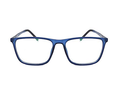 Huateng HT Anti-Blaulicht Gläser Anti-Strahlung hochwertigen Aluminium-Magnesium-Flachspiegel TR90 Brillengestell Männer und Frauen mit der gleichen Brille Rahmen