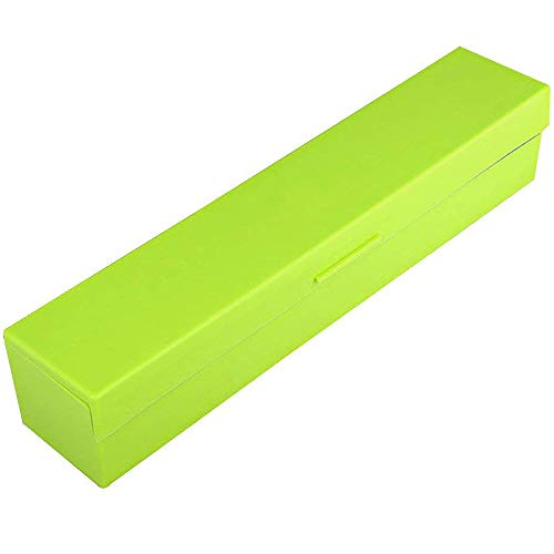 Dispensador de film papel aluminio multifunción cortador (verde/azul/rosa)