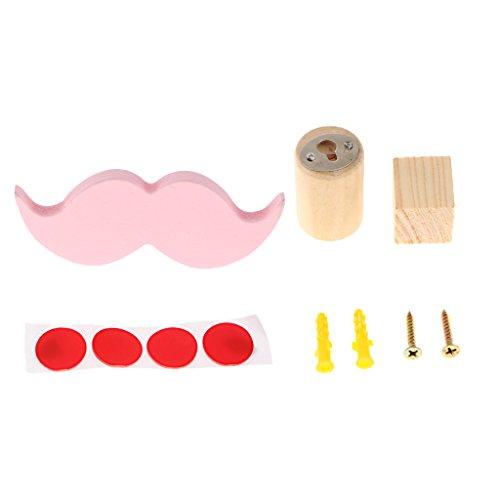 gazechimp-crochet-suspendu-forme-de-barbe-cactus-decor-de-maison-barbe-rose