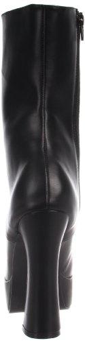 Pleaser Plateau Stiefelette ELECTRA Schwarz (Schwarz (Blk Faux Leather))