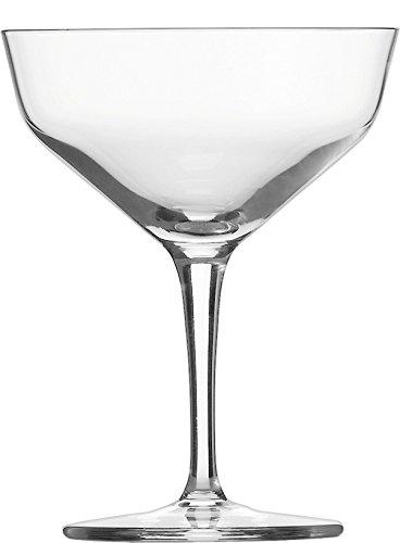 Schott Zwiesel 115839 Basic Bar Selection 6-teiliges Martiniglas Contemporary Set, Kristall, farblos, 10.2 cm, 6 Einheiten